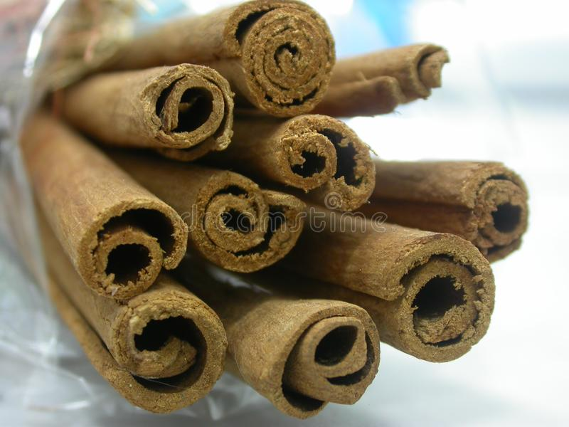 Cinnamon stock photography