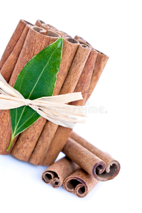 Cinnamon Bundle stock photography