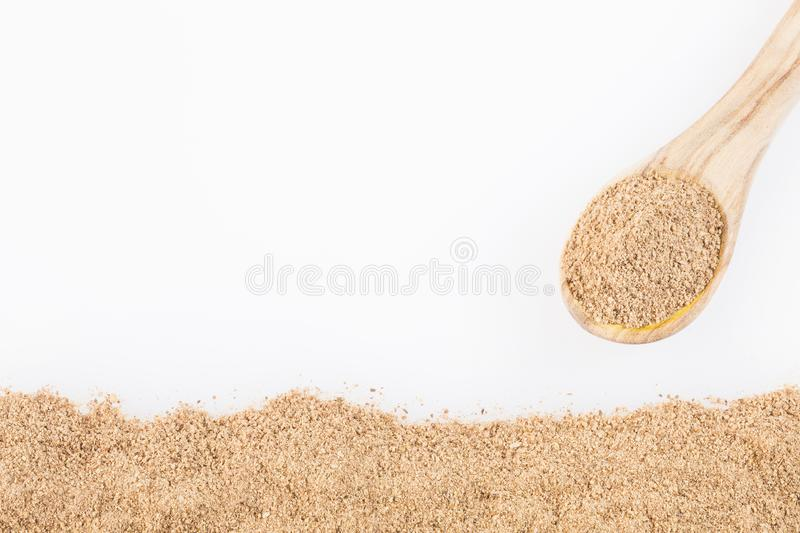 Cinnamon powder brown - Finely ground. Cinnamomum verum royalty free stock images