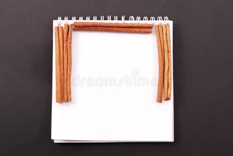 Download Cinnamon Recipe Border stock image. Image of insert, fresh - 22458007