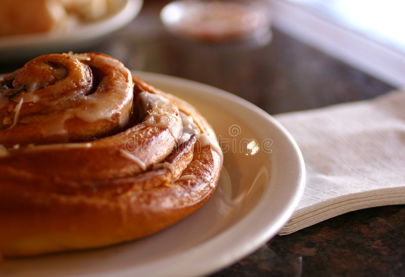 Cinnamon Roll stock images
