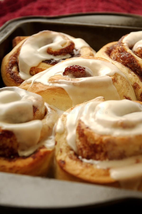 Free Cinnamon Rolls Stock Photo - 13529570