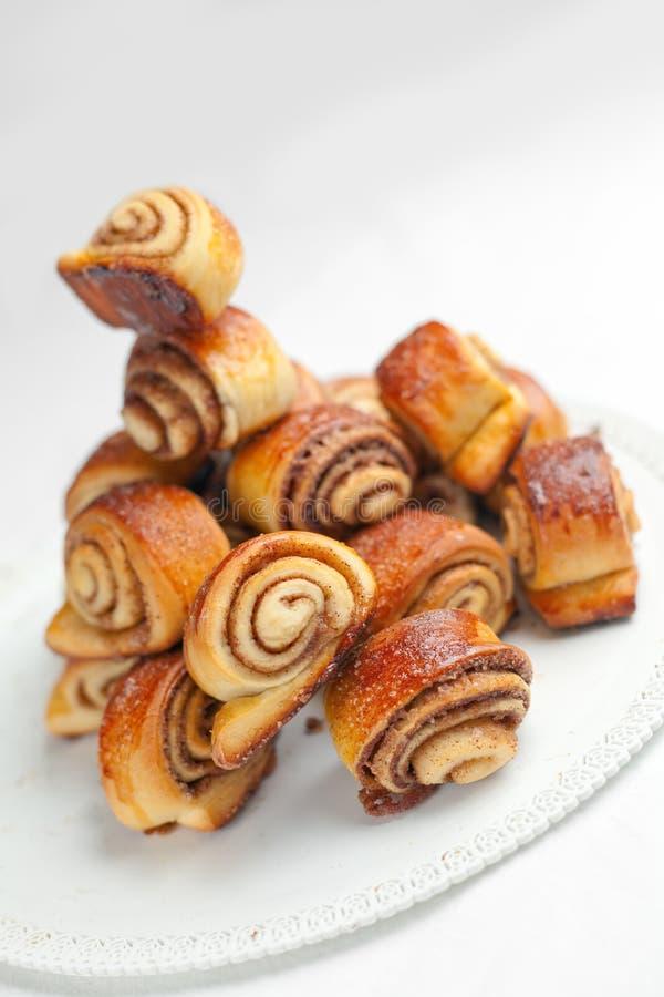 Download Cinnamon Rolls stock image. Image of spiral, edible, treat - 13962087