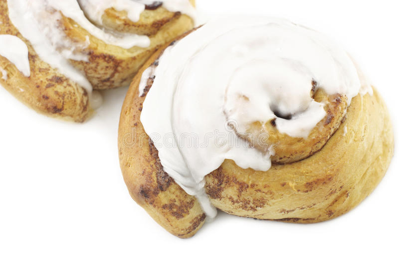 Download Cinnamon Rolls With Icing stock photo. Image of baked - 18568118