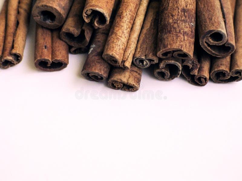 Cinnamon stack 3 stock photo