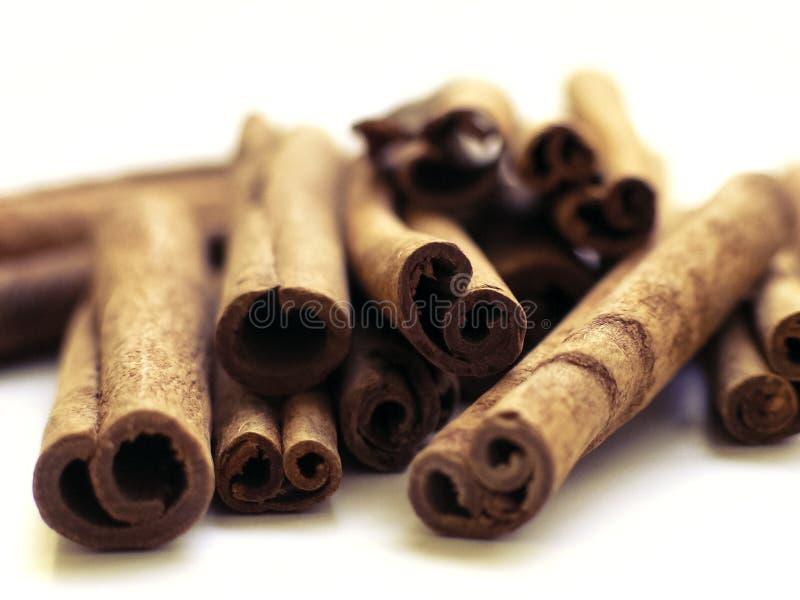 Cinnamon stack 4 royalty free stock photo