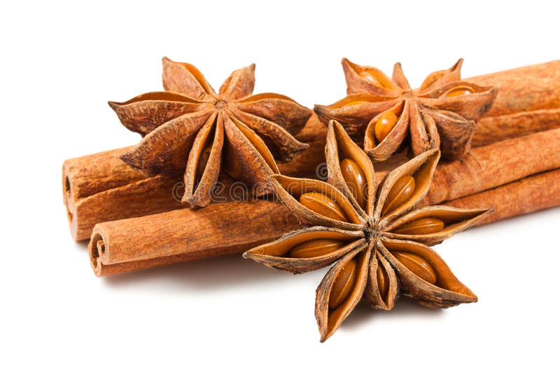 Download Cinnamon Sticks And Anise Stars Stock Image - Image: 22458359