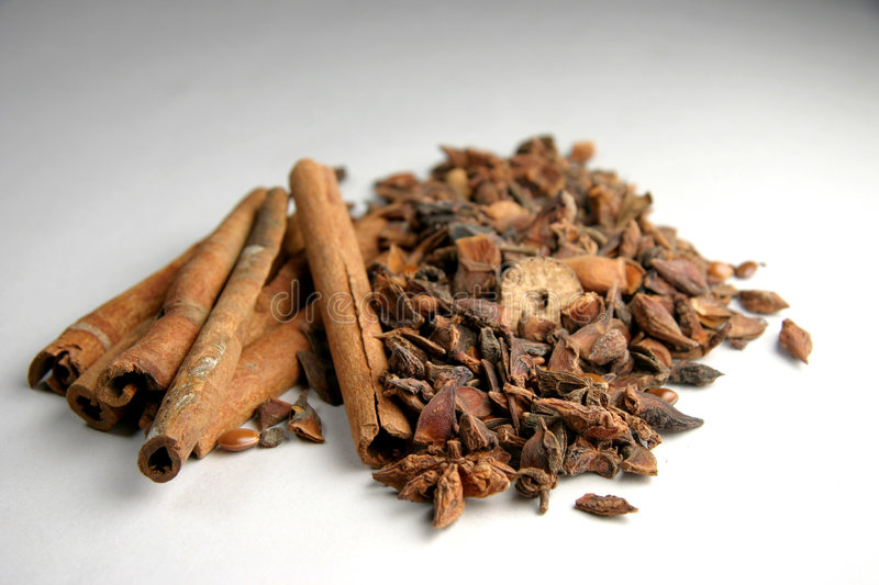 Download Cinnamon sticks & spices stock photo. Image of seed, flavor - 186560