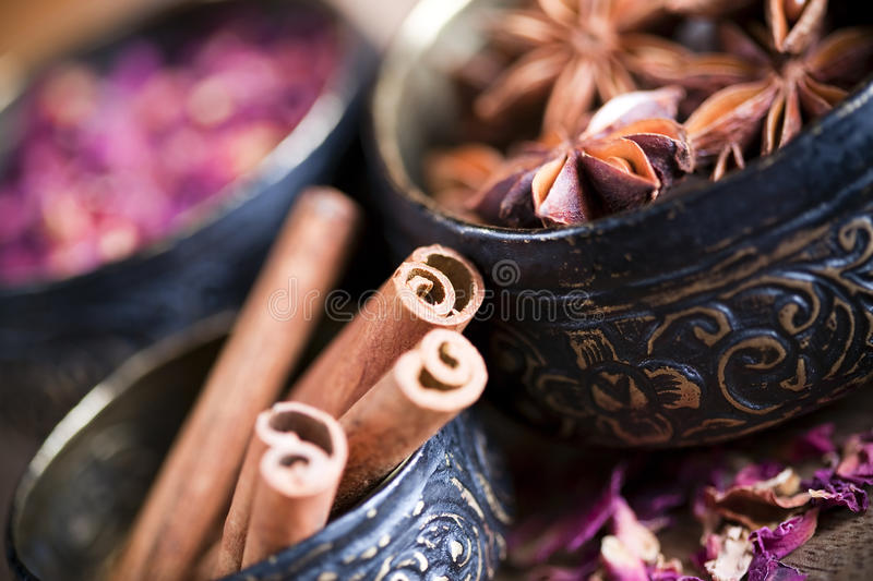 Download Cinnamon Sticks And Star Anise Stock Image - Image: 13596781