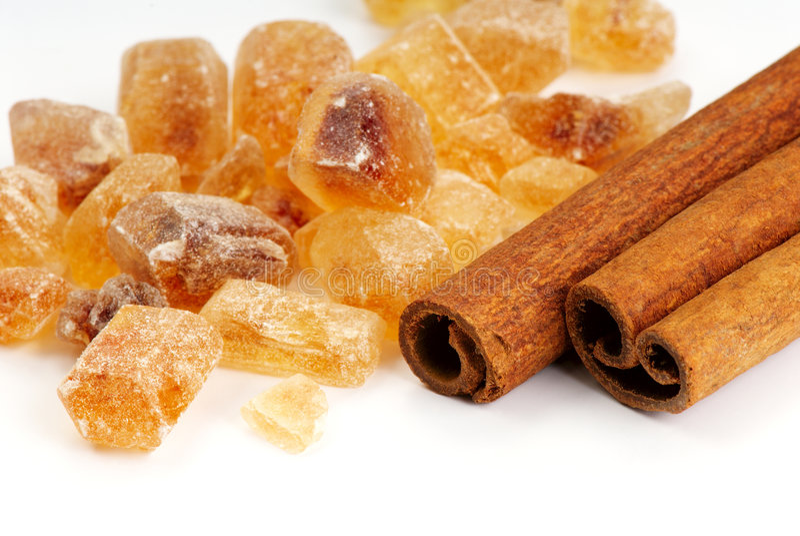 Cinnamon And Sugar Stock Photo