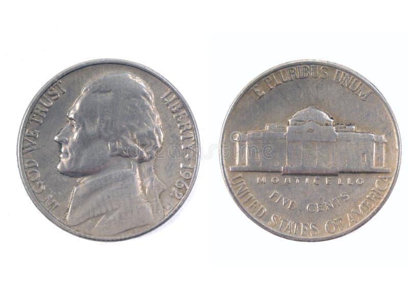 Cinq cents Etats-Unis 1962 image libre de droits