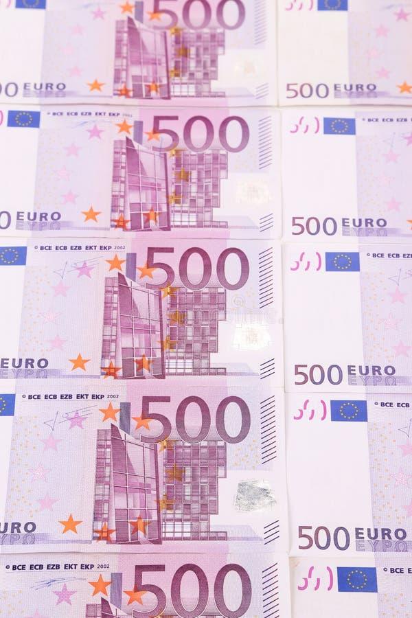 Cinq cents euro billets de banque. photographie stock