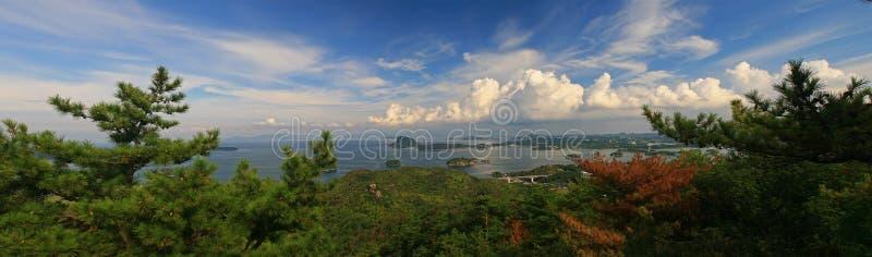Cinq ponts d'Amakusa photos stock