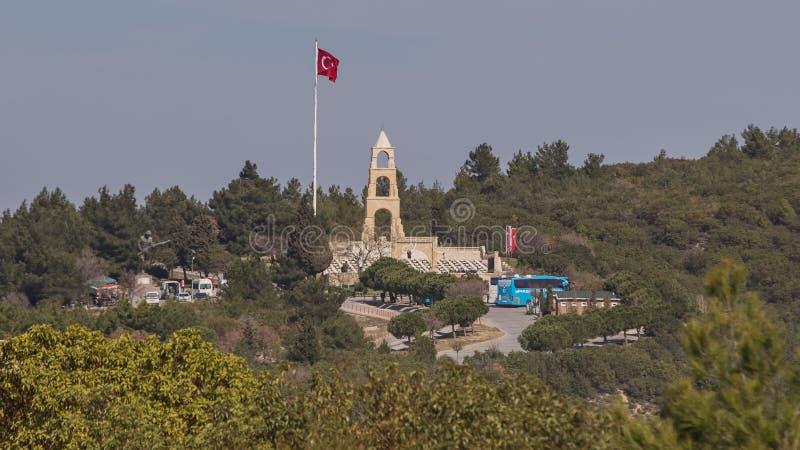cinquantasettesimo cimitero commemorativo del reggimento di fanteria immagine stock