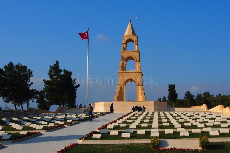 cinquantasettesimo memoriale del reggimento di fanteria, Gallipoli fotografia stock libera da diritti