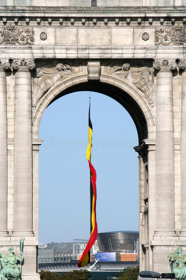 Cinquantenaire & European commission royalty free stock photography