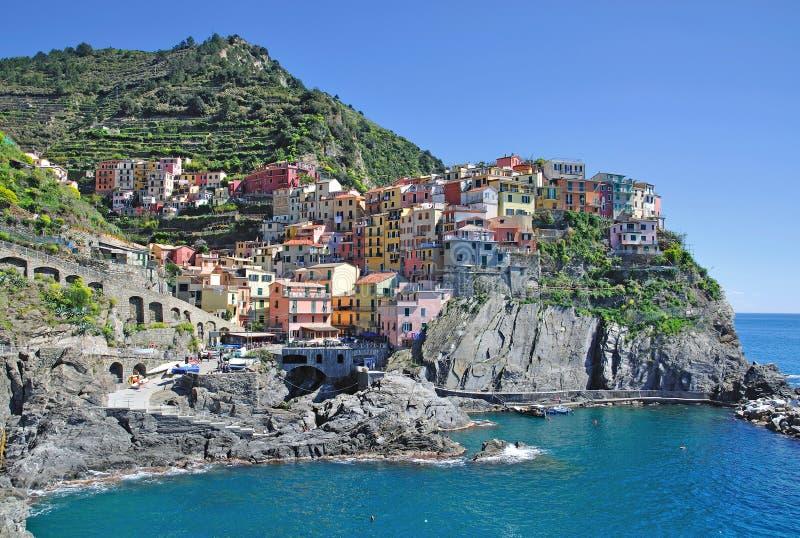 cinque manarola της Ιταλίας Λιγυρία terre στοκ εικόνες