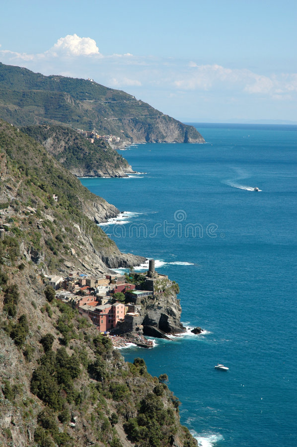 Cinque Terra royalty free stock photography