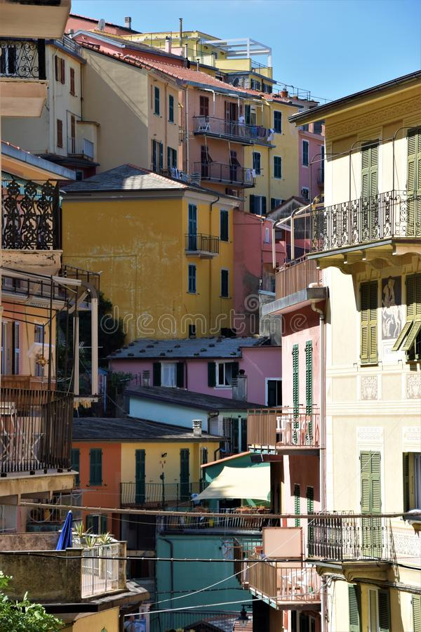 Cinque Terre Ιταλία στοκ εικόνα