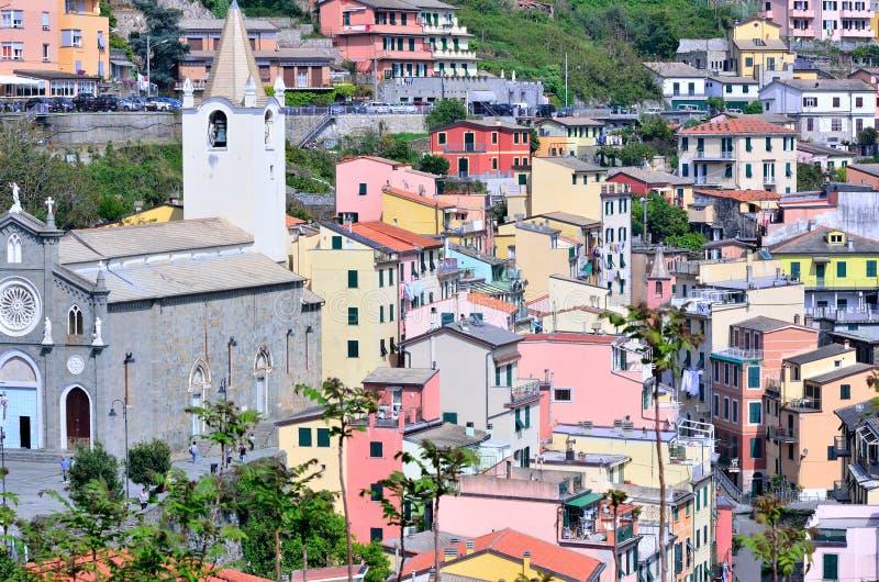 Cinque Terre, Италия стоковые изображения
