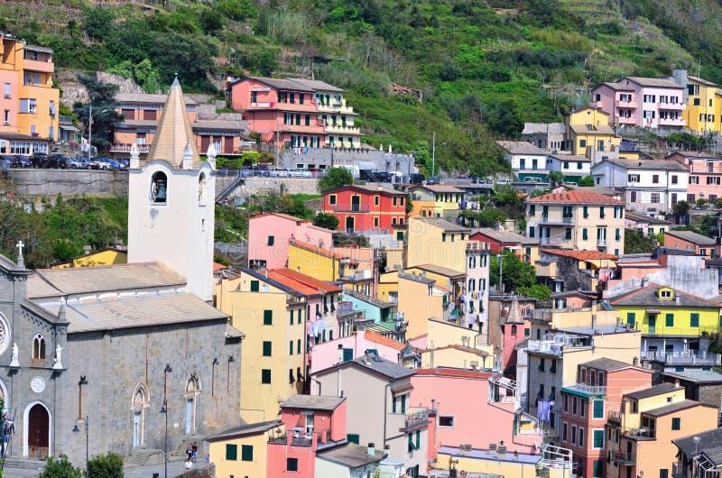 Cinque Terre, Италия стоковая фотография rf
