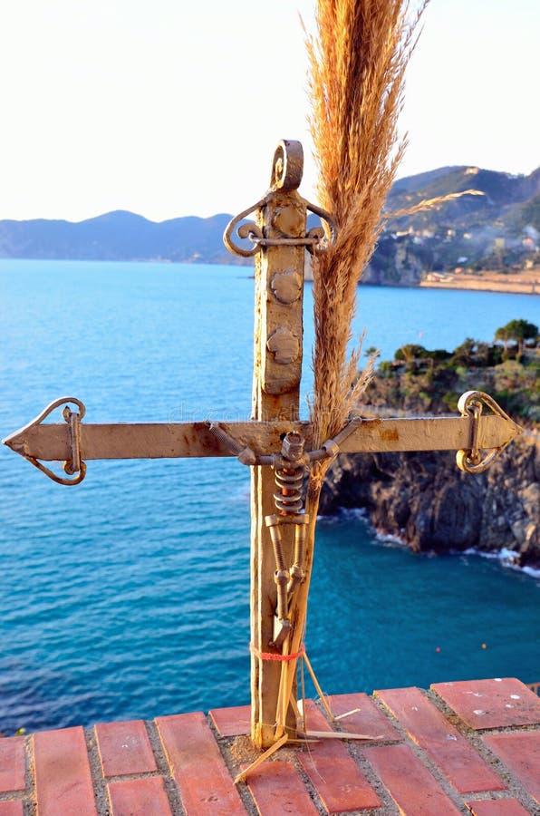 Cinque Terre, Италия - corniglia стоковое изображение