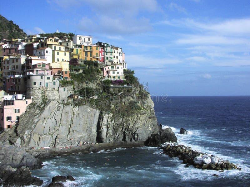 Cinque terre. Riomaggiore, Italy royalty free stock photography