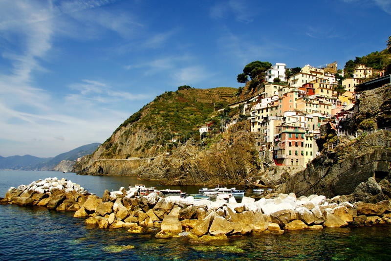 Download Cinque Terre stock image. Image of city, italy, nature - 21761851