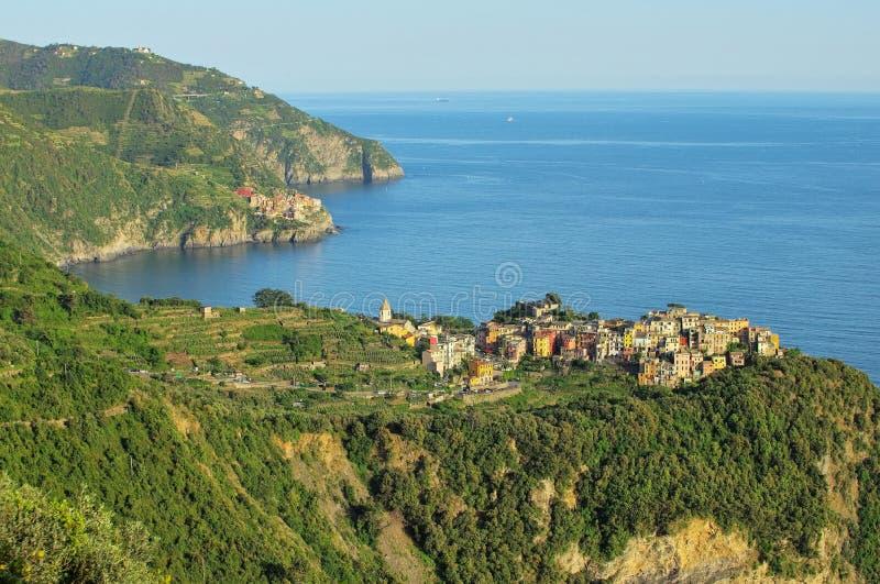Cinque Terre Corniglia lizenzfreies stockbild