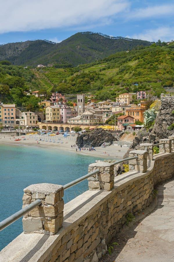 Cinque Terre, Itália fotos de stock