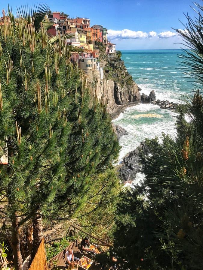 Cinque Terre Italia immagini stock