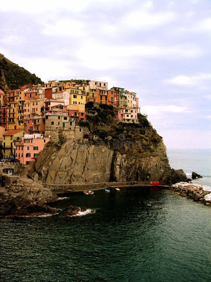 Cinque Terre Italia fotografía de archivo