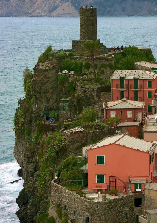 Cinque Terre, Italia foto de stock royalty free