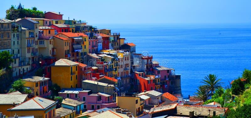 Cinque Terre Italia fotografia stock