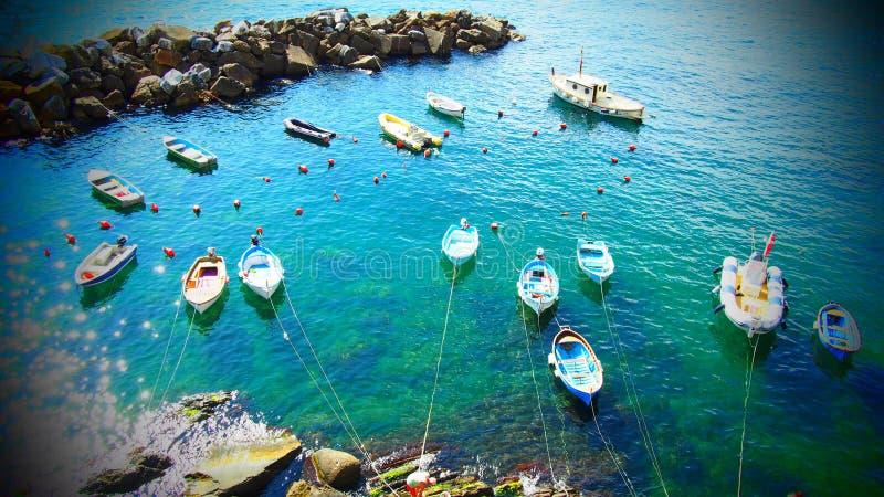 Cinque Terre - Italia imágenes de archivo libres de regalías