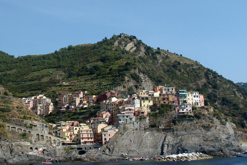 Download Cinque Terre, Italy stock image. Image of landmark, remote - 10978641
