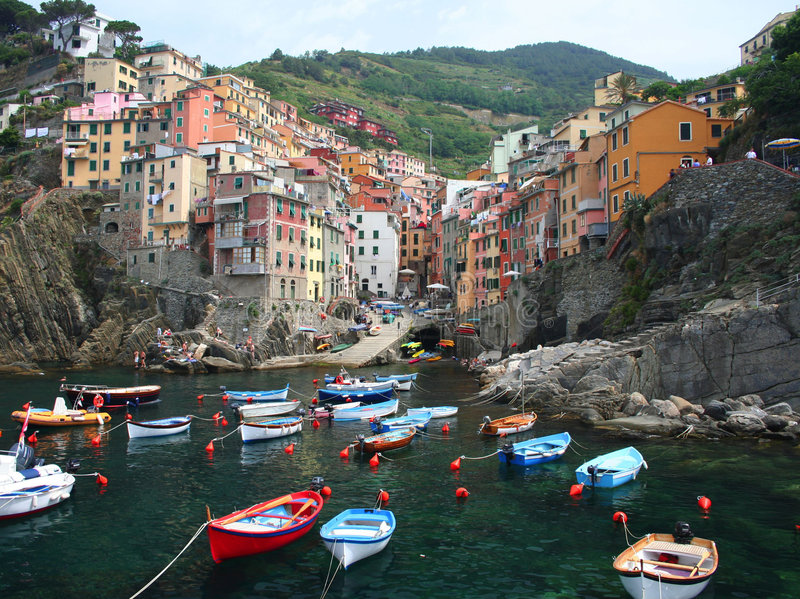 Download Cinque Terre, Italy stock photo. Image of mediterranean - 6306148