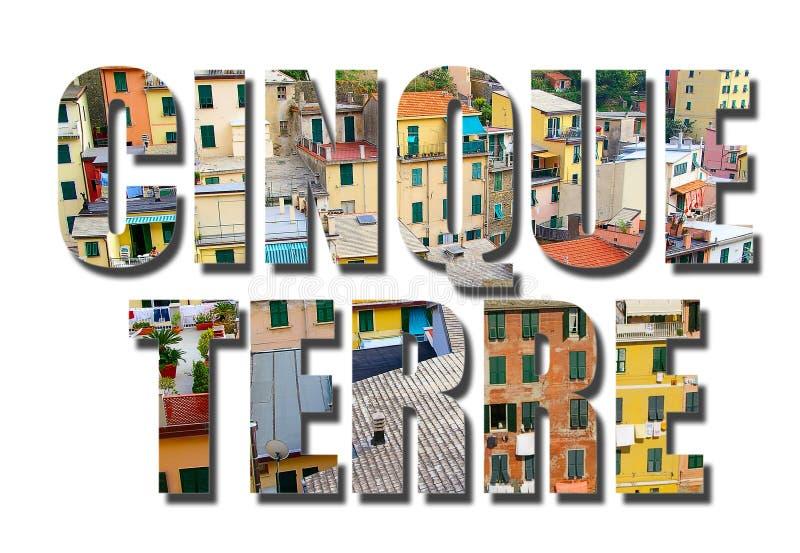 Cinque Terre Italy stock photography