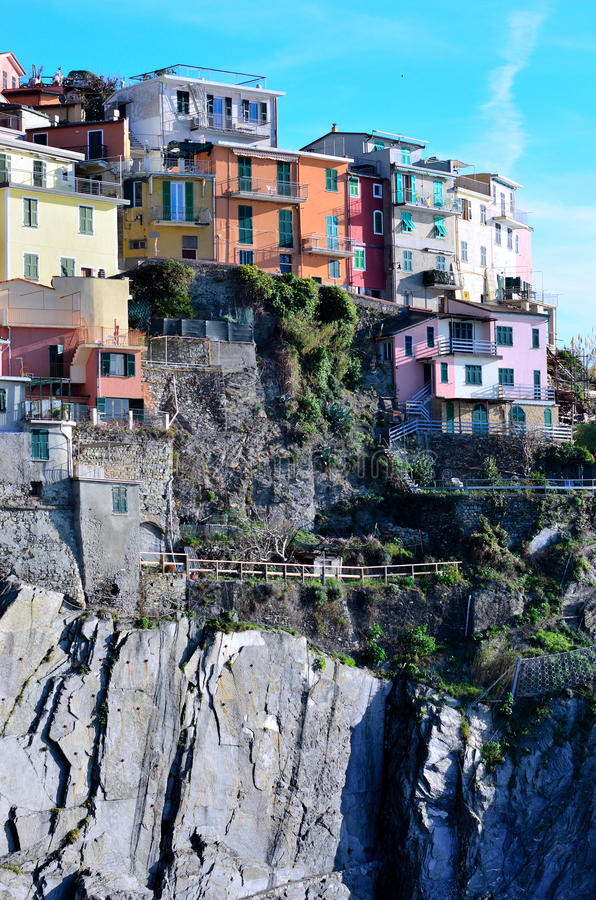 Download Cinque Terre, Italy - Manarola Stock Image - Image: 28856757