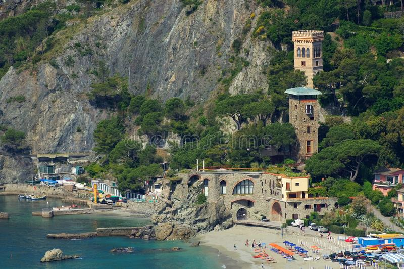 Cinque Terre Monterosso al Mare lizenzfreies stockfoto