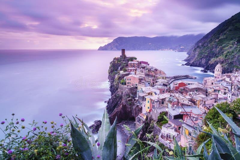Cinque Terre National Park em Itália imagem de stock royalty free