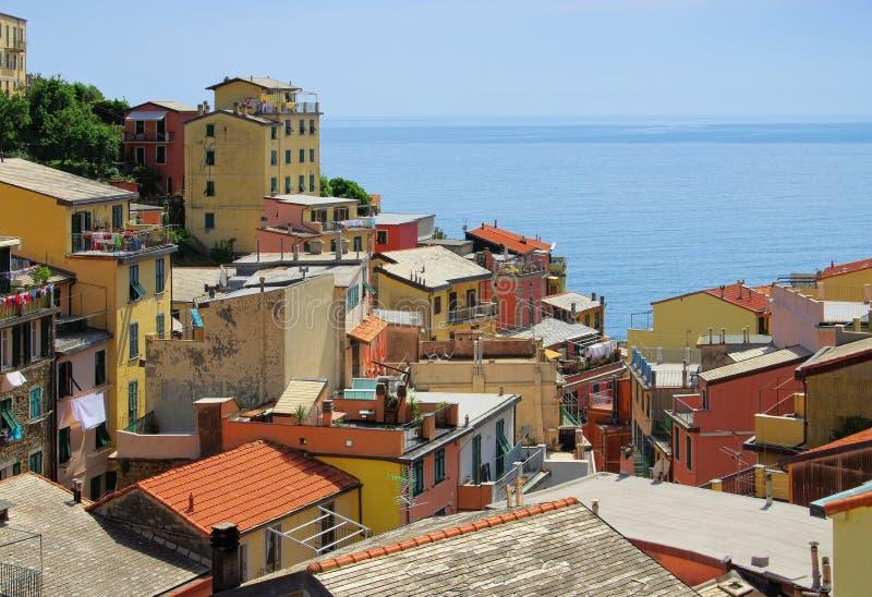 Cinque Terre Riomaggiore lizenzfreie stockfotografie