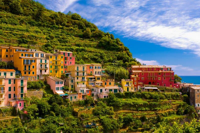 Cinque Terre, Włochy obrazy royalty free