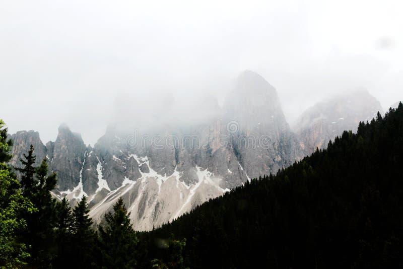Cinque Torri halny szczyt w Dolomiti Alps w Włochy obrazy royalty free