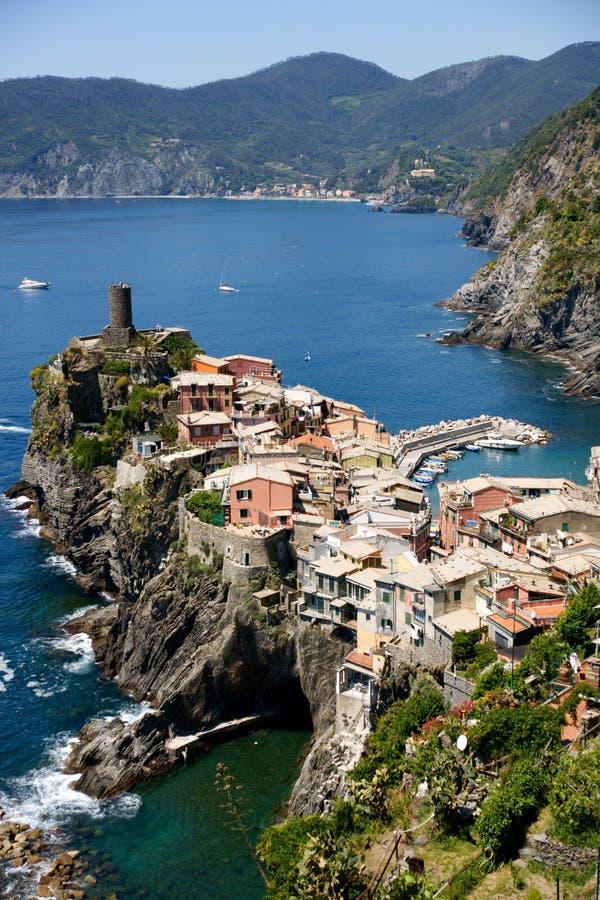 cinque vernazza της Ιταλίας terre στοκ φωτογραφία με δικαίωμα ελεύθερης χρήσης
