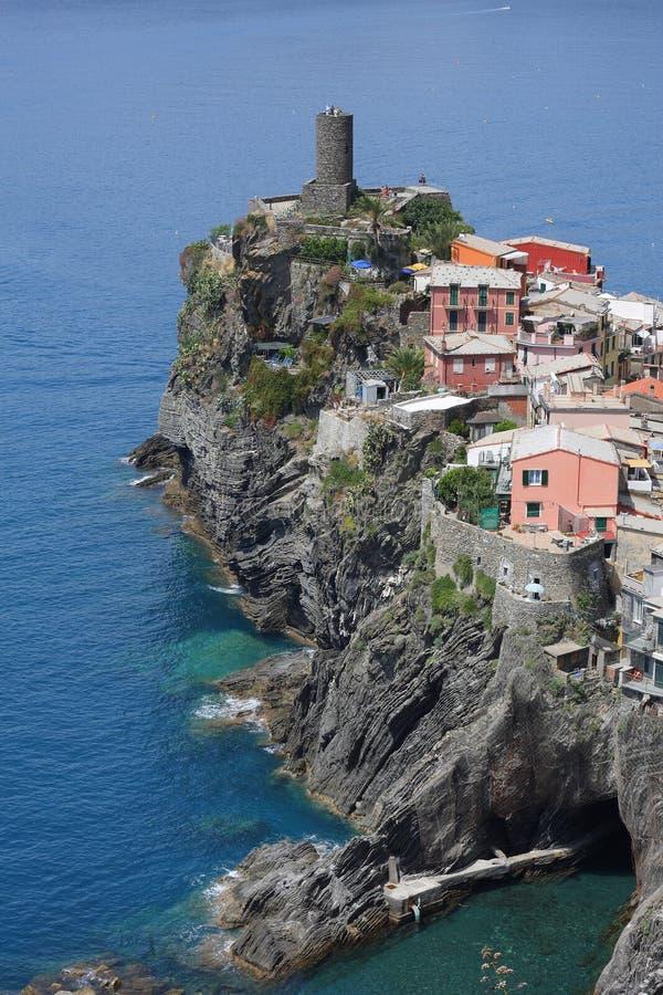 cinque vernazza της Ιταλίας terre στοκ φωτογραφία