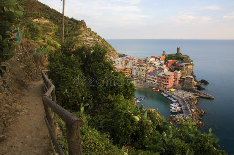 Cinque Vernazza Terre - zdjęcie royalty free