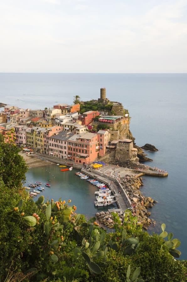 Cinque Vernazza Terre - obraz royalty free