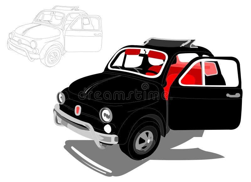 Download Cinquecento 500 ItalienareFiat Bil Redaktionell Bild - Illustration av historia, lopp: 37348101