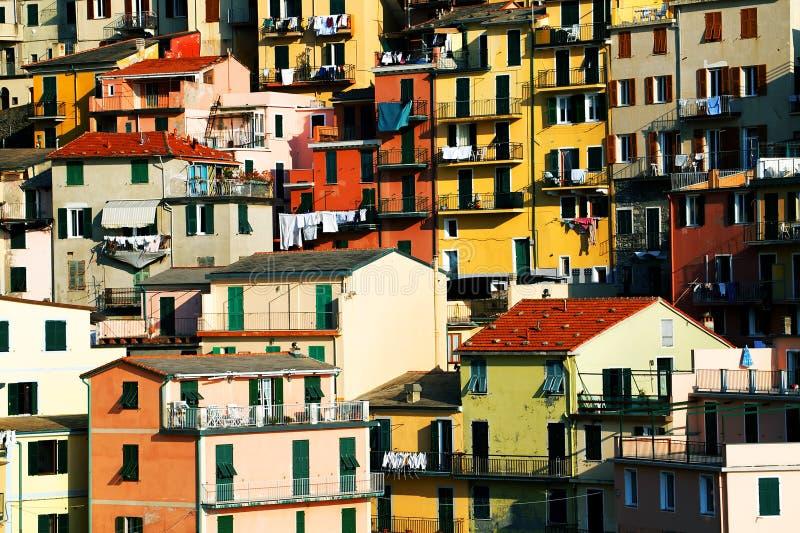 Download Cinqueterre fotografering för bildbyråer. Bild av bygger - 19785413
